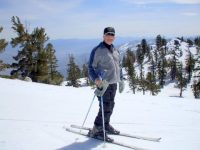 "Mike ""Bear Trap"" Warner is a former ski instructor committed to finding discounts for seniors."