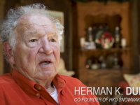 Innovator, pioneer, snowmaker, Herman Dupre is a legend in snowsports.