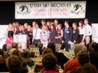 The University of Utah's ski team won the NCAA Championship, and the ski team members have high GPAs. Credit: Harriet Wallis