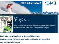Free Subscription To SKI Magazine For SeniorsSkiing.Com Readers