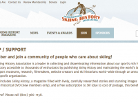 Free One Year Subscription To Ski History Magazine
