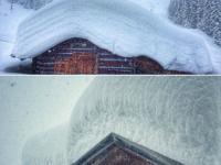 Zermatt has beaucoup de neige.