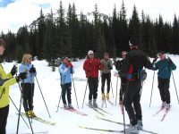 "Old expression worth heeding. ""Nordic skiing is easy to do but even easier to do wrong.""  Take a lesson. Credit: XCSkiResorts.com"