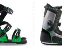 APEX Ski Boot combines a removable Open Chassis with a walkable boot.