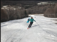 Still turning at Killington with one week to go. Credit: Aspen East Ski Shop