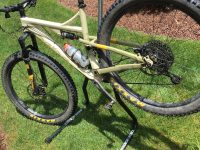 Here's a Fat Tire bike; carbon frame has room for wider tires. Credit: Pat McCloskey
