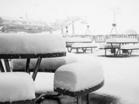 Sundeck at The Remarkables, Queenstown, New Zealand's famous resort. Big snow happening do there this summer. Credit: Snowbrains.com