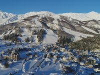 Happo One is the largest resort in the Hakuba Valley with base areas serving the mountain. Credit: Hakuba.com
