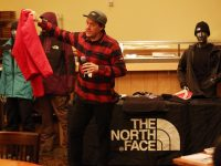 "Stan Kosmider, field representative for The North Face, presented on ""How to Dress for Cold Temperatures"" at the Northeast Weather Summit at Stratton Mountain Resort in December. Credit: Martin Griff"