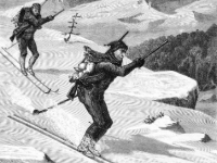 Lessons From Folk Tale: X-C Ski Adventure