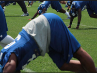 The NFL has embraced yoga to make muscles supple and flexible. Credit: Equinox