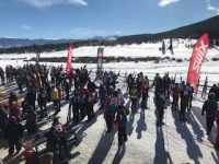Race day at Ski For Light. Credit: Pam Owen