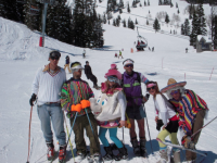 Spring Skiing And Gaping At Jackson Hole