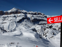 Follow the signs around Dolomiti Superski. Credit: Murray Sandman