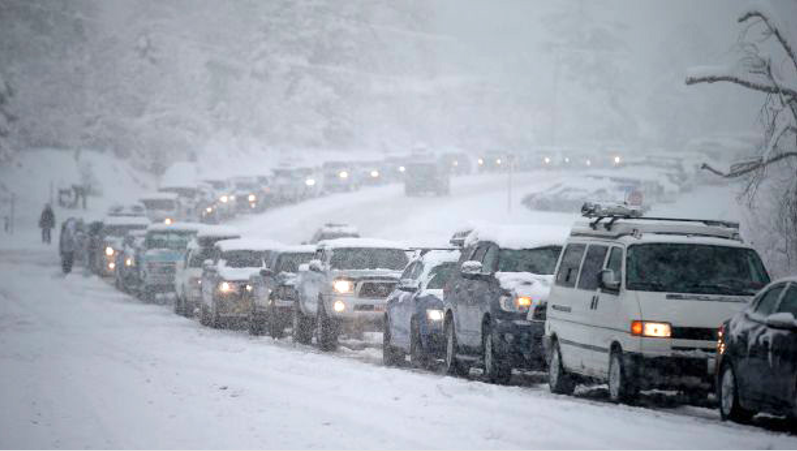 Monster Traffic Jams Overwhelm Canyon Roads At Four Salt Lake Resorts Last Winter