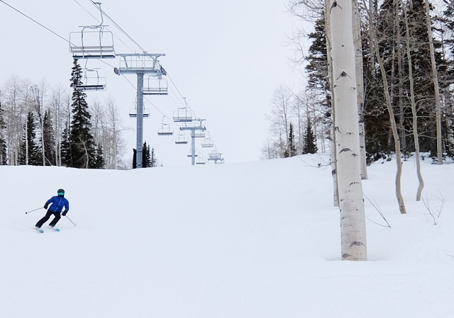 Uncrowded Powder Mountain