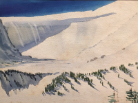 Mystery Glimpse: Water Color With Snow