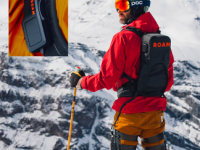 Roam Elevate backpack and control device