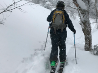 Backcountry skiing is different, requires planning and gear. Credit: Bolton Valley