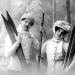 Skiers from 1900. Source: The Guardian