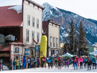 CB's Alley Loop marathon starts in the middle of time. Credit: Xavier Fane/CB Nordic