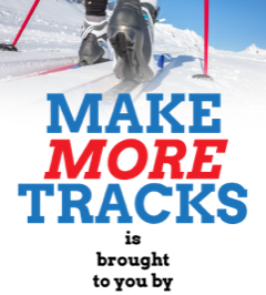 Make More Tracks graphic header