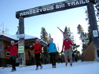 West Yellowstone Rendezvous Trails might be the center of XC in North America.
