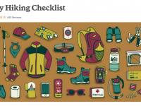 REI's checklist of  equipment to bring for day hikes is definitely worth bookmarking.