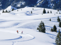 Sun Valley Nordic Center has beautiful vistas and trails. Credit: Visit Sun Valley