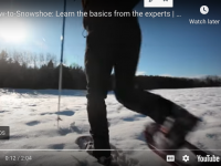 Make More Tracks: How To Snowshoe