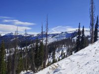 "Wolf Creek, CO, opening weekend end of October. ""Fall conditions"". Credit: John Farley"