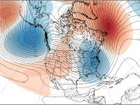 Christmas Day Jet Stream snapshot.