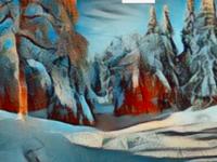 Ski World Art