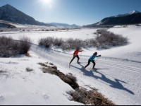 Crested Butte Nordic Center attracting alpine skiers who can't get downhill reservations.