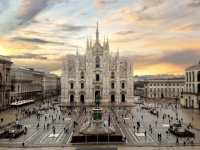 Duomo di Milano where we indulged in our initial Gelati. Credit: Medium.com
