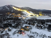 Appi Kogen is a self-contained resort in northern Honshu.