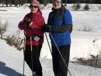 XCSkiResorts.com publisher Roger Lohr and wife Kimberly at Bretton Woods.